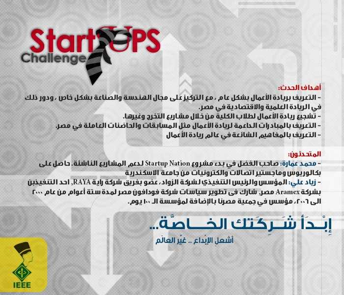 ملتقي ريادة الأعمال الأول بجامعة المنيا في 26فبراير