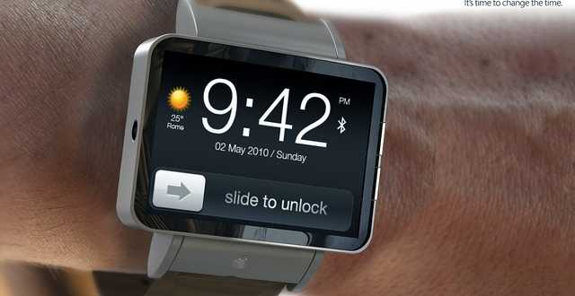 تصور لتصميم IWATCH ساعة ذكية من آبل