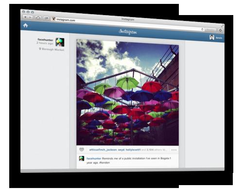 Instagram-on-web