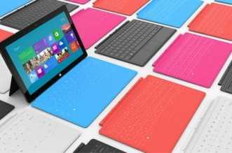 صورة لحاسوب مايكروسوفت اللوحي Surface