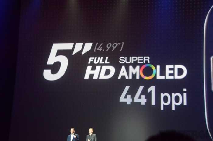 مواصفات شاشة جالاكسي S4