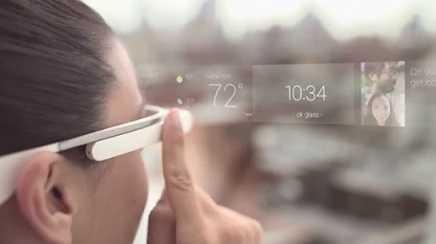 صورة توضح كيفية إستخدام نظارة جوجل