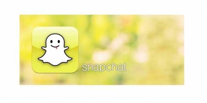 Snapchat شعار تطبيق
