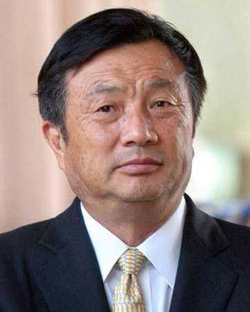 Ren Zhengfei المؤسس والمدير التنفيذي لشركة هواوي الصينية