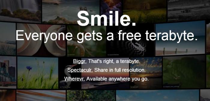فليكر يحصل على تصميم جديد ويتيح الآن 1000جيجابايت مجانية لتخزين الصور
