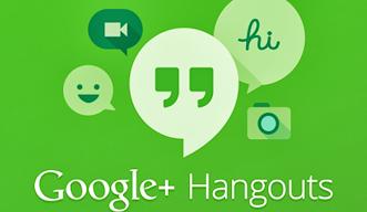 شعار تطبيق جوجل الموحد للرسائل hangouts