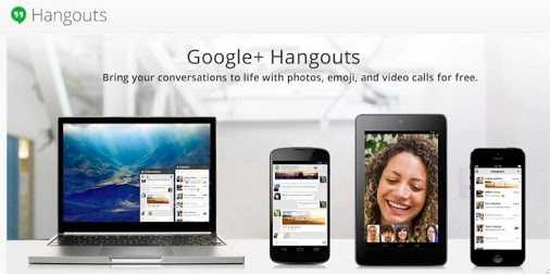 Hangouts تطبيق جديد للتراسل من جوجل موحد لكل من ios وأندرويد وكروم