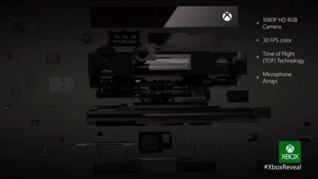 مواصفات Xbox One kinect