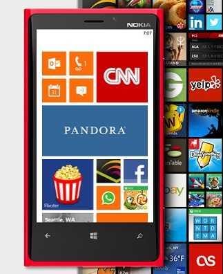 عدد التطبيقات في متجر ويندوزفون بلغ 160 ألف تطبيق وأقترب من 100 ألف تطبيق في متجر ويندوز 8