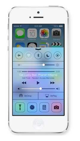 Control Center |مركز التحكم في iOS 7