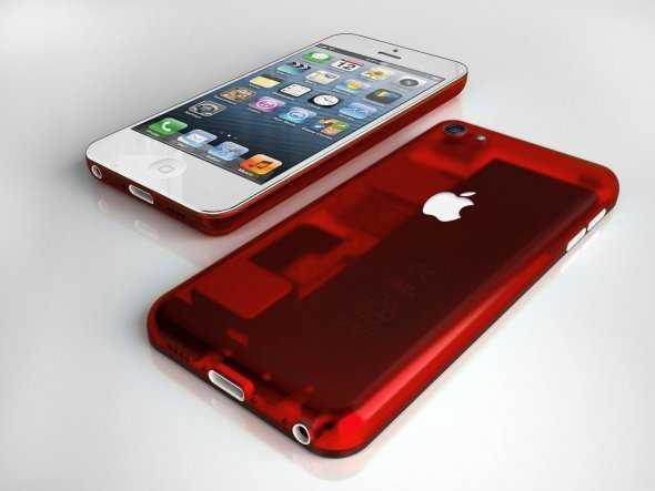 تصور لتصميم آيفون بتكلفة منخفضة بعدة ألوان2