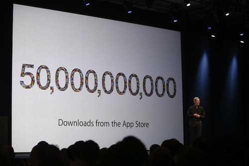 آبل: 600 مليون جهاز iOS تم بيعها ومتجر التطبيقات يحتوي الآن 900 ألف تطبيق