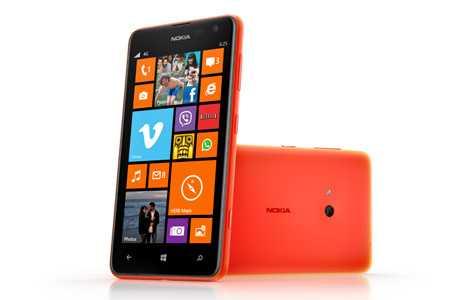 نوكيا تعلن عن لوميا 625 بشاشة 4.7 بوصة ودعم لشبكات الجيل الرابع