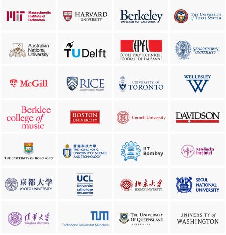 الجامعات التي توفر برامج دراسية من خلال موقع edX