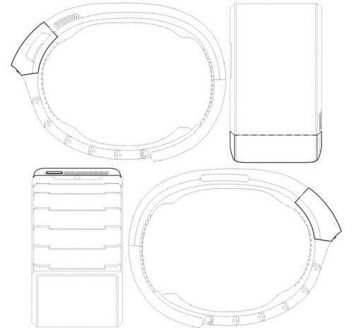 ساعة اليد الذكية الجديدة من سامسونج ربما تحمل شاشة مرنة-