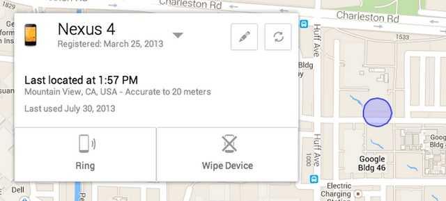 جوجل تعلن عن أداة لتتبع أجهزة أندرويد المفقودة