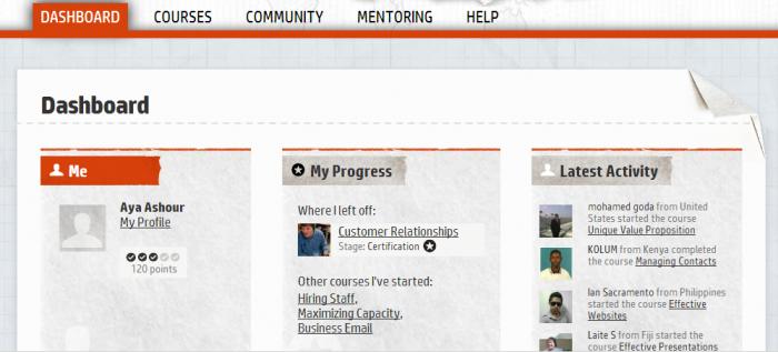 HP LIFE e-Learning ..موقع يقدم دورات تدريبية لرواد الأعمال2