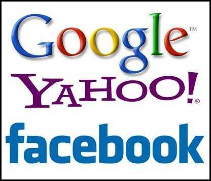 جوجل-ياهو-فيسبوك