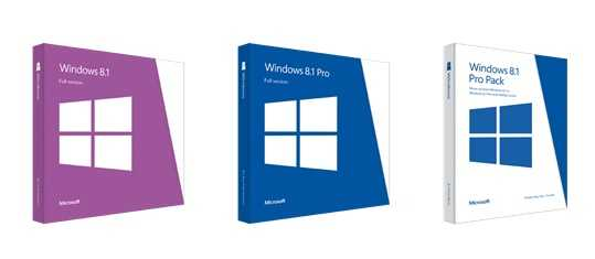Pricing and Packaging for Windows 8.1