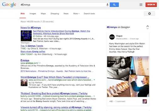 مشاركات جوجل بلس ذات الصلة بوسم ما ستظهر ضمن نتائج بحث جوجل