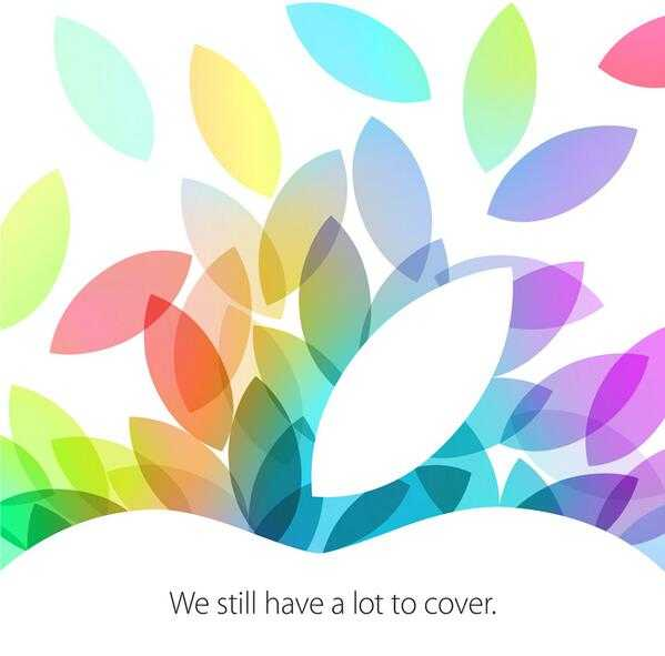 آبل تعلن عن حدث جديد في 22 أكتوبر ستعلن فيه غالباً عن جيل جديد من آيباد