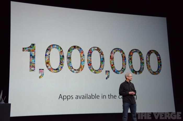 مليون تطبيق الآن في متجر آبل للتطبيقات و20 مليون مستخدم لخدمة iTunes Radio