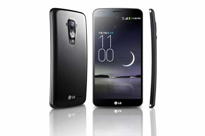 إل جي تكشف عن الهاتف G Flex بشاشة منحنية