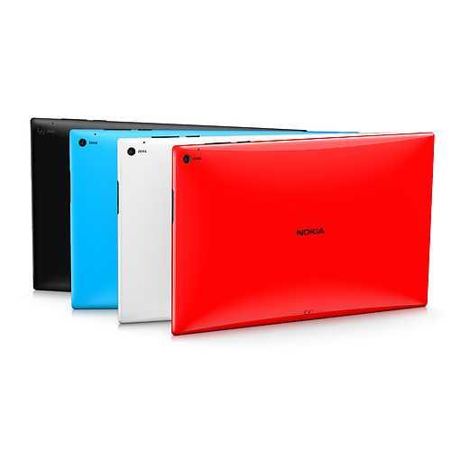 الألوان التي سيتوفر بها لوميا 2520