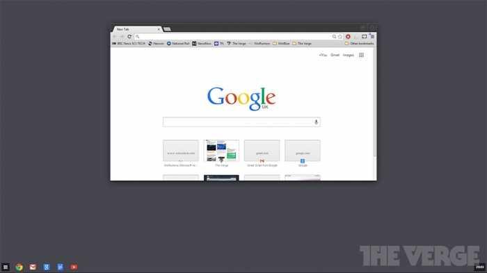 جوجل على تطوير نسخةمن نظام تشغيل كروم للعمل من داخل ويندوز8