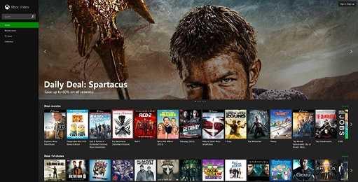مايكروسوفت تطلق خدمة Xbox Video على الإنترنت