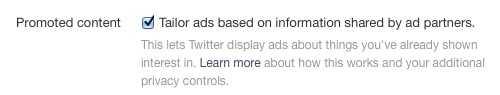 تويتر ستعرض الآن إعلانات للمستخدمين إستناداً على المواقع التي يقومون بتصفحها