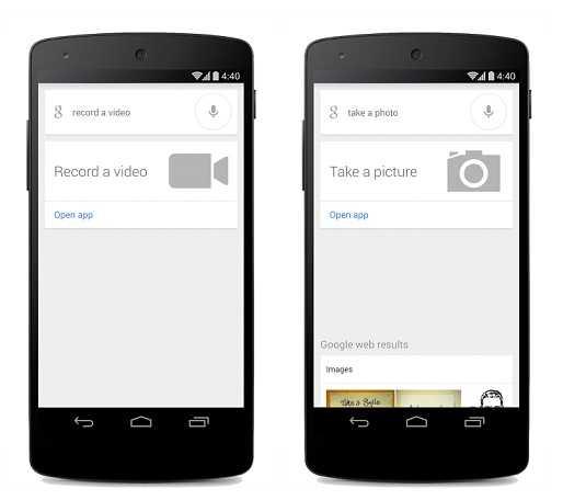 تحديث جديد لتطبيق بحث جوجل لأجهزة أندرويد يتيح إلتقاط صورة أو مقطع فيديو من خلال الأوامر الصوتية