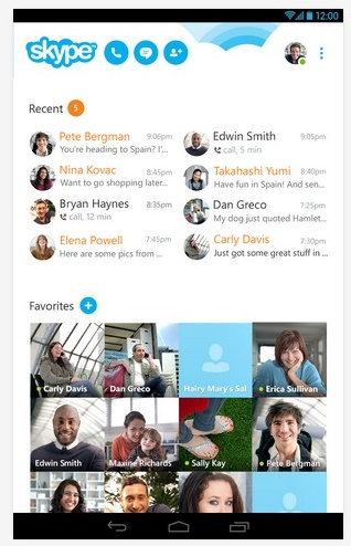 تحديث جديد لتطبيق Skype لأجهزة أندرويد يحسن إستهلاك التطبيق للبطارية