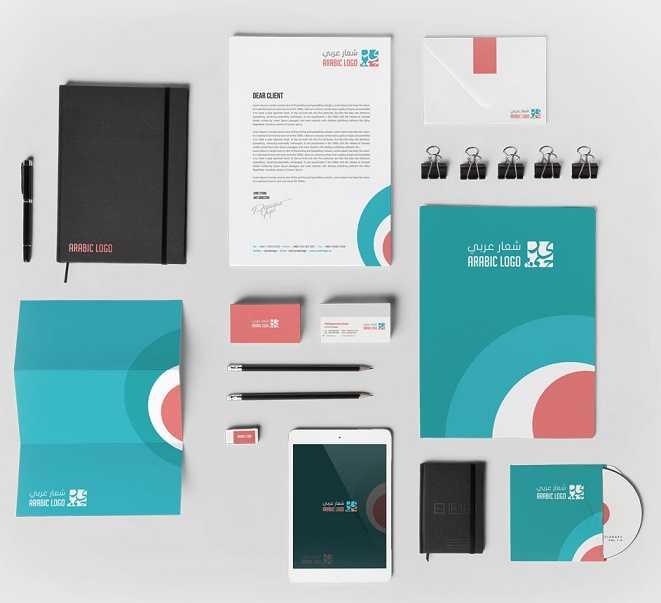حزمة مطبوعات الهوية التجارية: حزمة تصميمات مجانية جديدة من ديزاين ديل