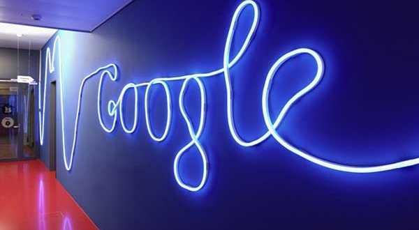 شعار شركة جوجل في مكتب زيورخ