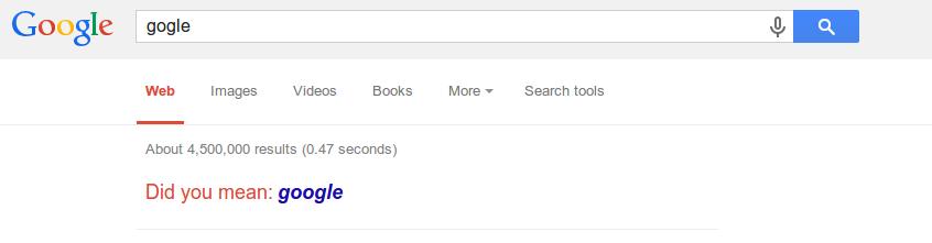 """إضافة """"هل تقصد"""" لجوجل ضاعفت أعداد المستخدمين للضعف"""