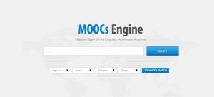 محركات بحث في دورات التعليم الإلكتروني Moocs Engine