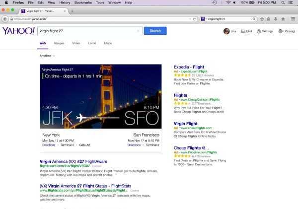 موزيلا تستبدل ياهو بمحرك بحث جوجل في فيرفكس