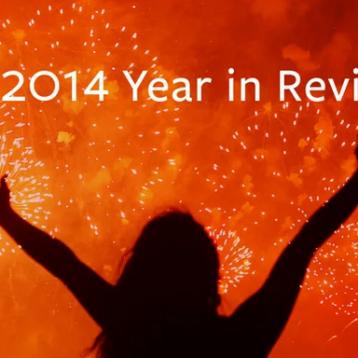 أبرز 10 موضوعات على فيسبوك خلال 2014
