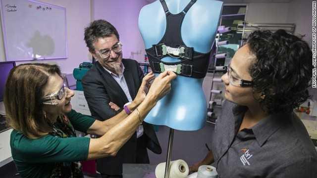 باحثون يطورون حمالة صدر تغير حجمها تلقائيا أثناء الحركة