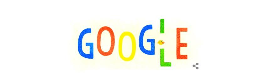 شعار جوجل للإحتفال بمناسبة رأس السنة الجديدة