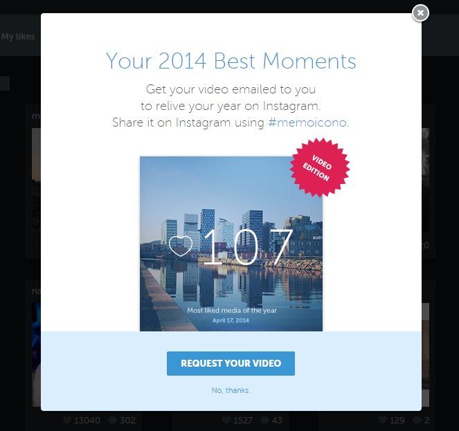 Iconosquare –كيف تحصل على فيديو أبرز صورك على انستقرام خلال 2014؟