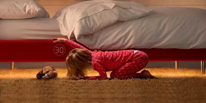 سرير ذكي للأطفال