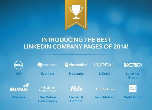 أفضل 10 شركات على LinkedIn خلال 2014