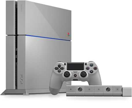 الإصدار الخاص من PS4  - بلايستيشن 4 - بمناسبة مرور 20 عام على إصدار جهاز الألعاب بلايستيشن