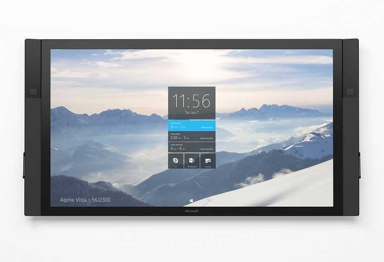 Surface Hub: لوحي من مايكروسوفت بشاشة 84 بوصة