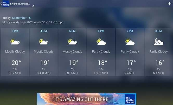 The Weather Channel Android Apps on Google Play