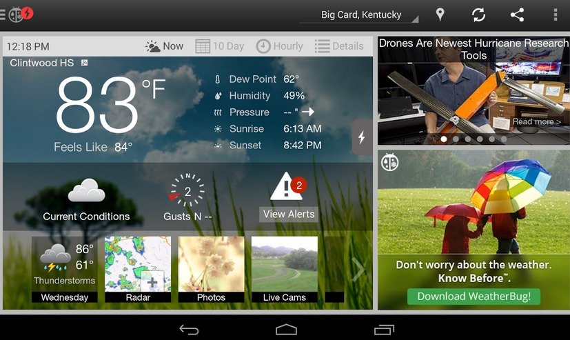 WeatherBug Android Apps on Google Play
