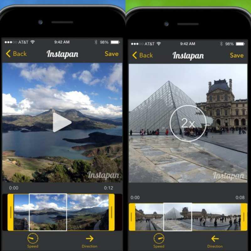 لقطات شاشة من تطبيق instapan