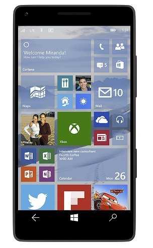 windows 10 للهواتف المحمولة